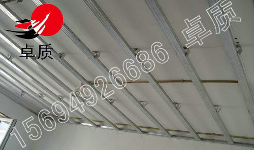 安装吊筋:根据施工图纸要求确定吊筋的位置